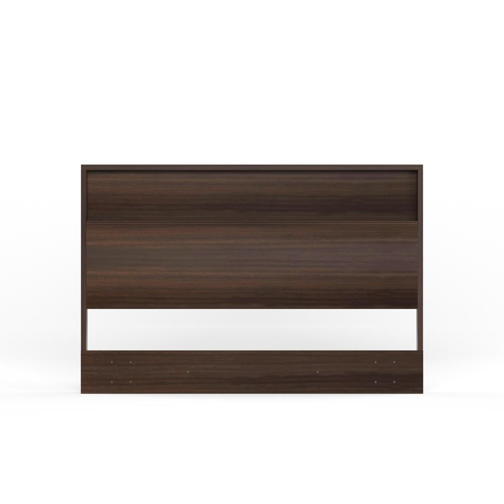 Holland Full/Queen-Size Headboard in Chocolate
