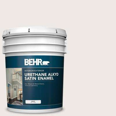 5 gal. #BWC-06 Solid Opal Urethane Alkyd Satin Enamel Interior/Exterior Paint