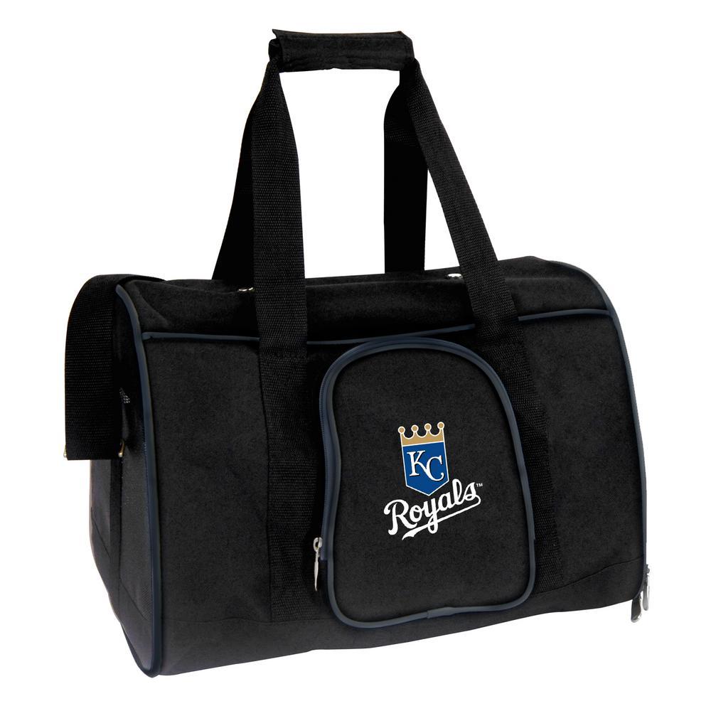 MLB Kansas City Royals Pet Carrier Premium 16 in. Bag in Navy