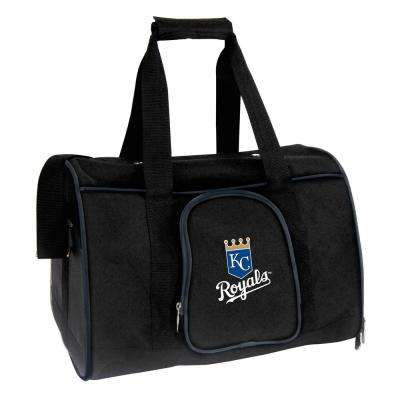MLB Kansas City Royals Pet Carrier Premium 16 in. Bag in Navy