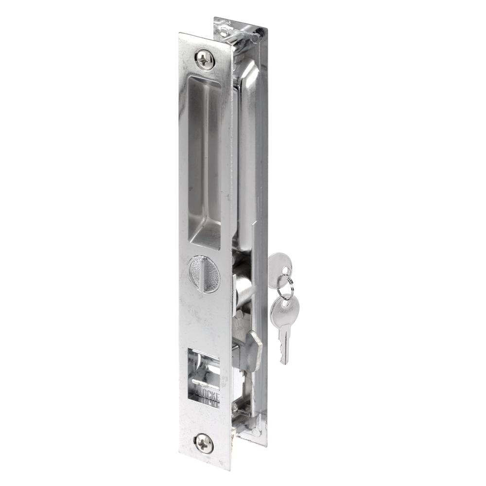 Flush-Mounted Sliding Patio Door Latch Mechanism  sc 1 st  Home Depot & Prime-Line Flush-Mounted Sliding Patio Door Latch Mechanism-C 1076 ...