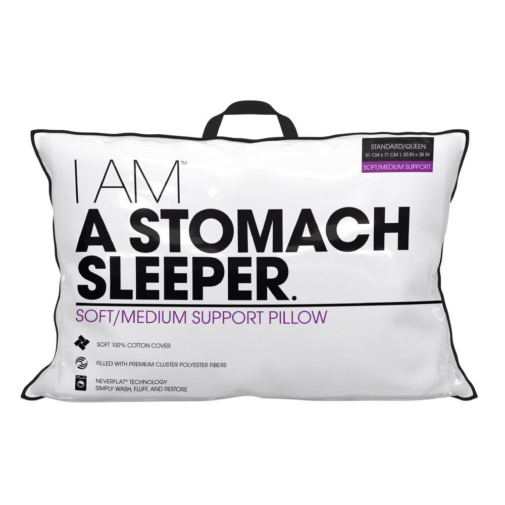 Stomach Sleeper Down Alternative Standard Pillow