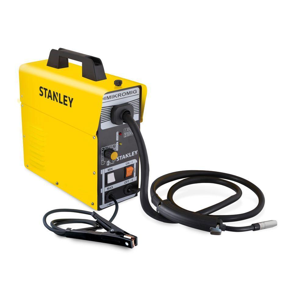 Stanley MIKROMIG 120-Volt 80-Amp Flux-Cored Welder-10970U - The Home ...