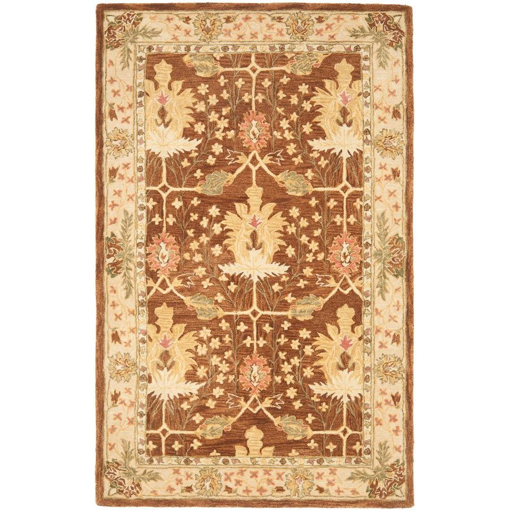 Safavieh Anatolia Brown 6 Ft X 9 Ft Area Rug An540b 6 The Home Depot