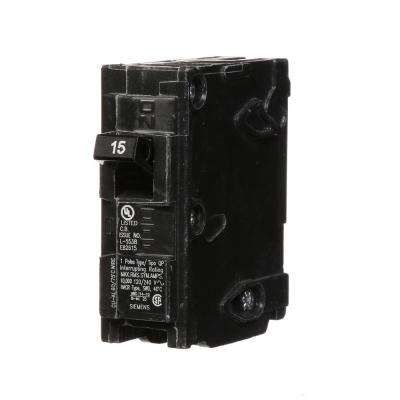 15 Amp Single-Pole Type QP Circuit Breaker