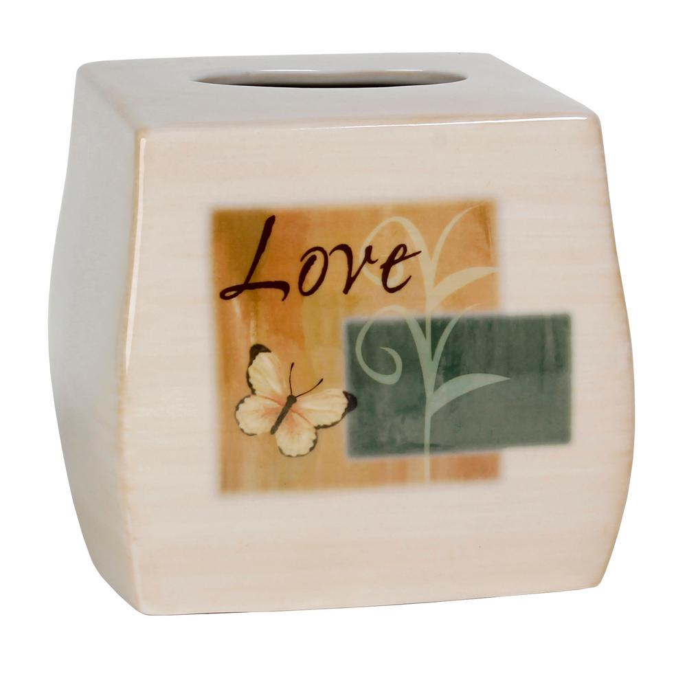 Tranquility Free Standing Tissue Box Cover in Spice