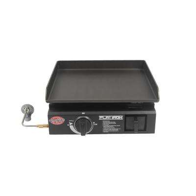 Portable Gas Griddle in Black