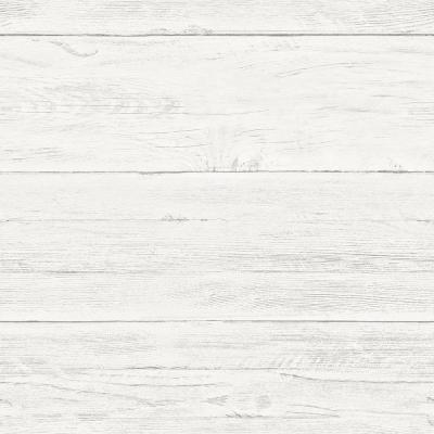 Shiplap Peel and Stick Vinyl Strippable Wallpaper (Covers 30.75 sq. ft.)