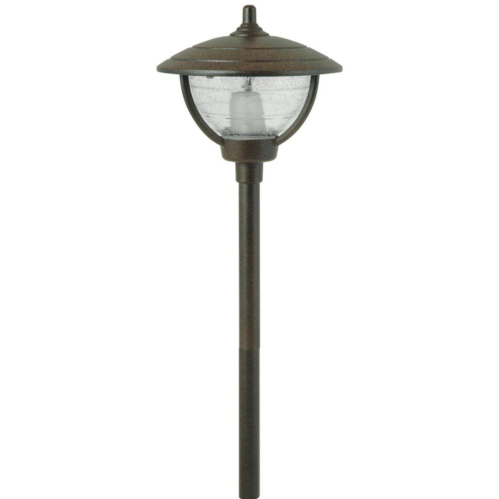 Moonrays Auburn Style Low Voltage 10 Watt Bronze Metal Outdoor