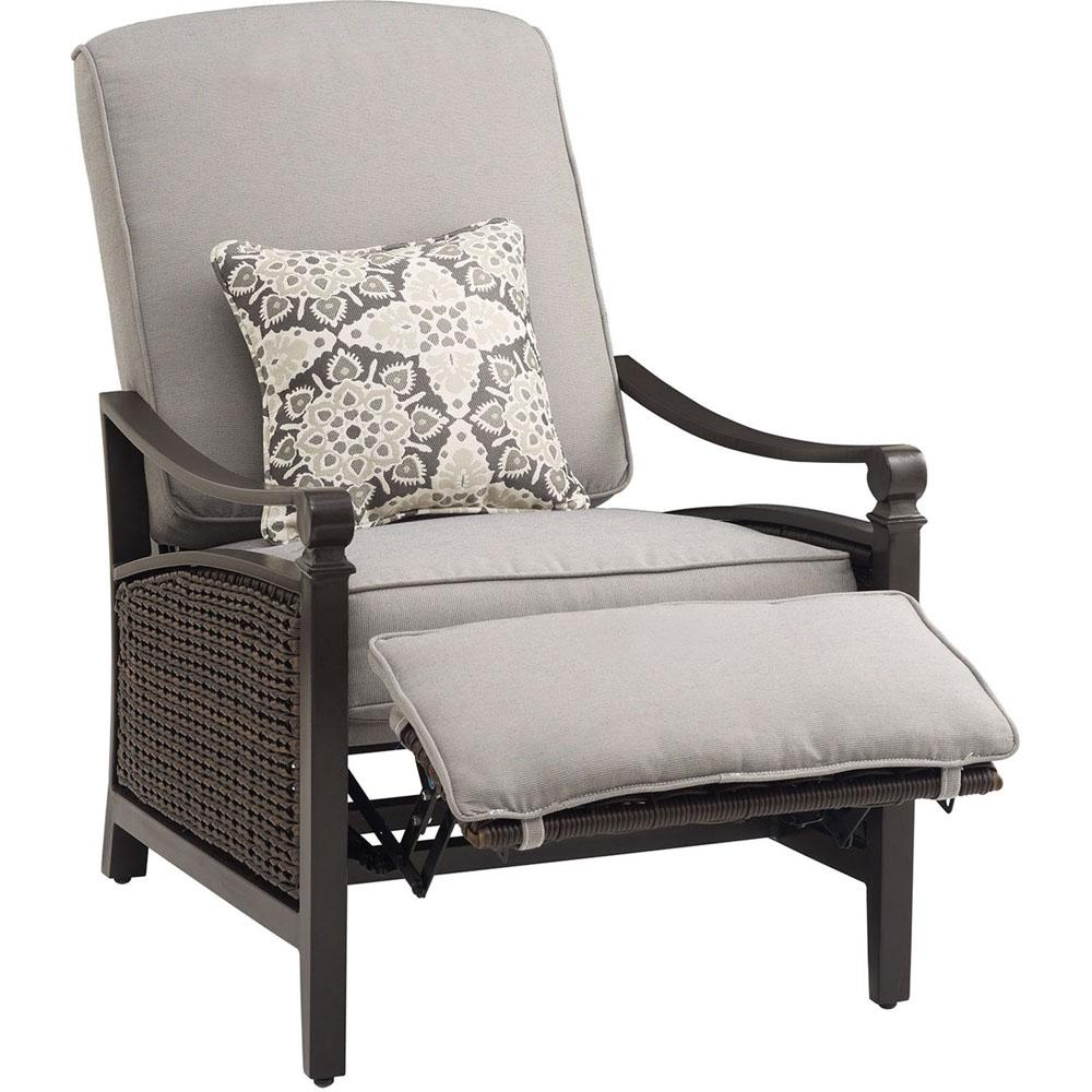 This Review Is From:Havana Brown Wicker Outdoor Recliner With Cushions In  Pewter