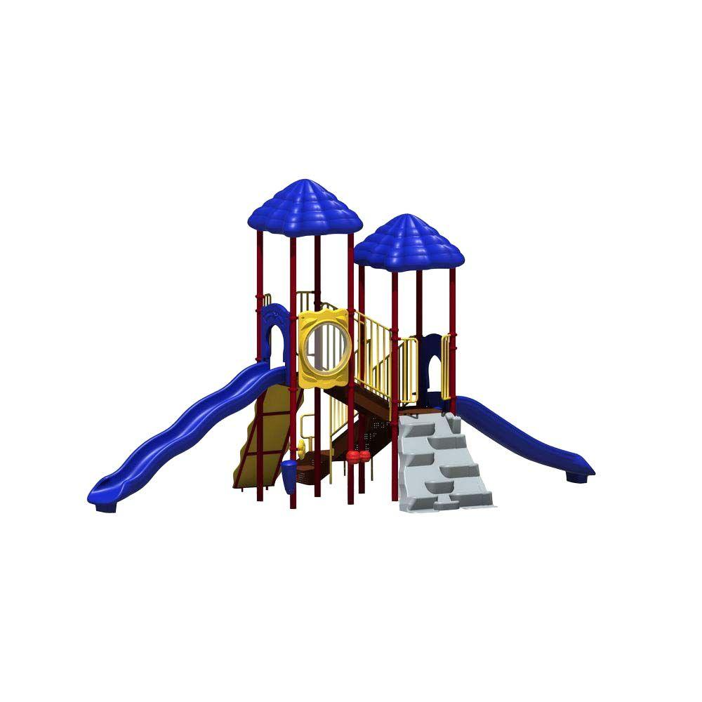 UPlay Today Bighorn Playful Commercial Playset with Ground Spike