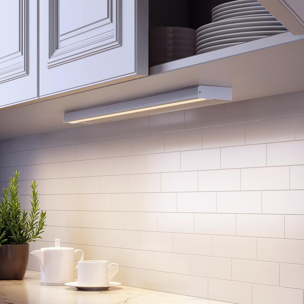 Led White Direct Wire Under Cabinet