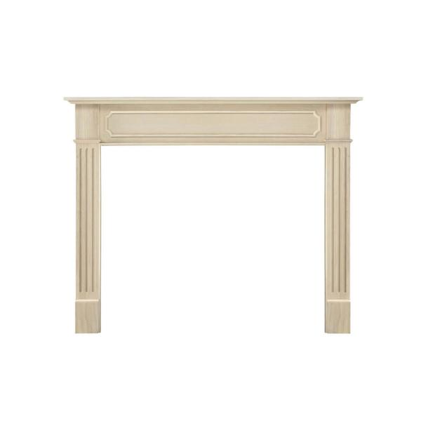 Alamo 50 in. x 42 in. Unfinished Full Surround Mantel