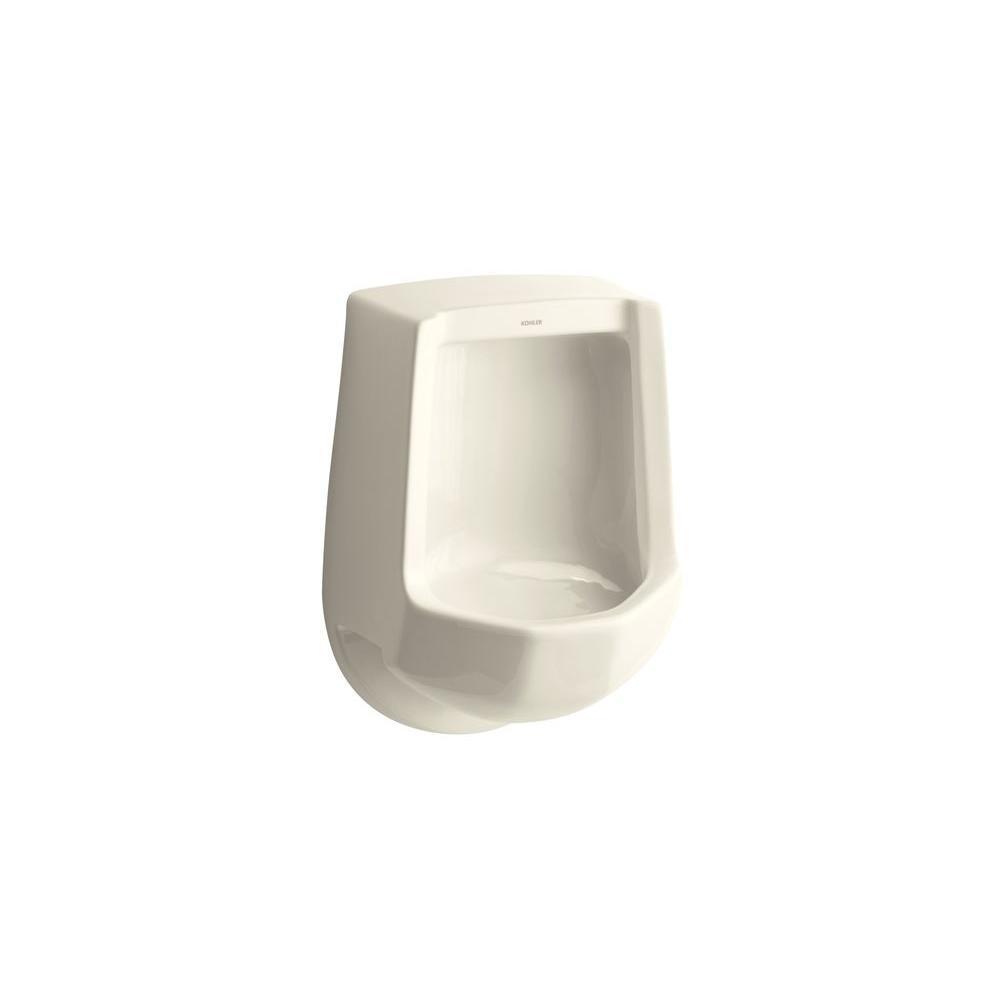 KOHLER Freshman 1.0 GPF Urinal with Rear Spud in Almond