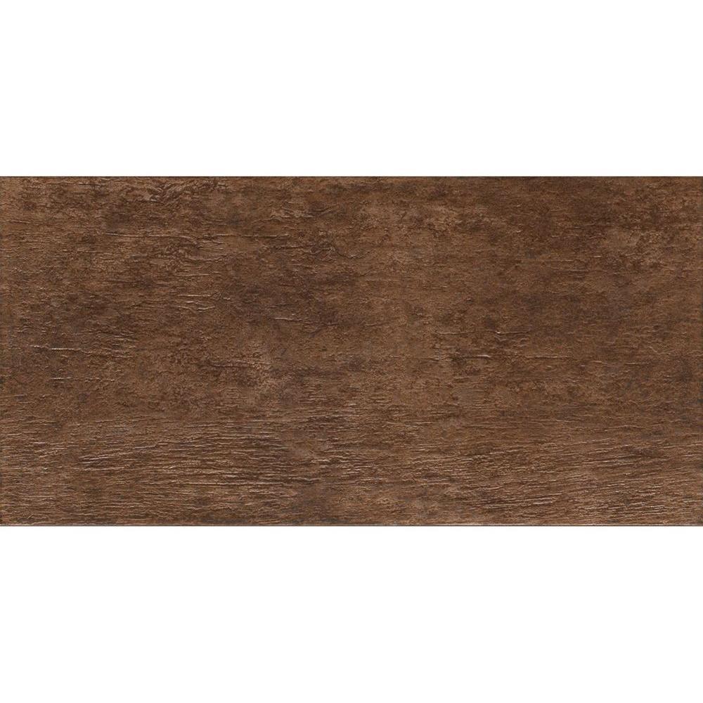 MARAZZI Riflessi di Legno 23-7/16 in. x 5-13/16 in. Walnut Porcelain Floor and Wall Tile (9.46 sq. ft. / case)