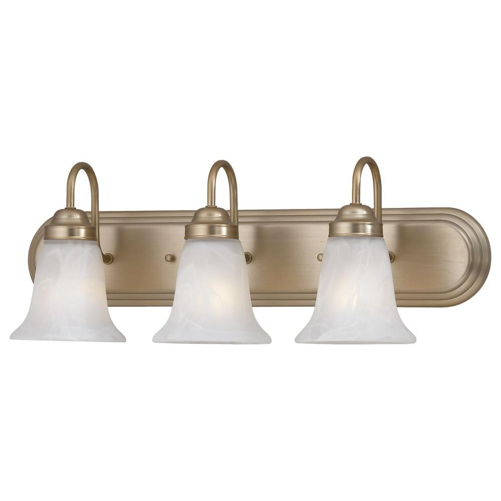 Thomas Lighting Homestead 3-Light Burnished Bronze Wall Vanity