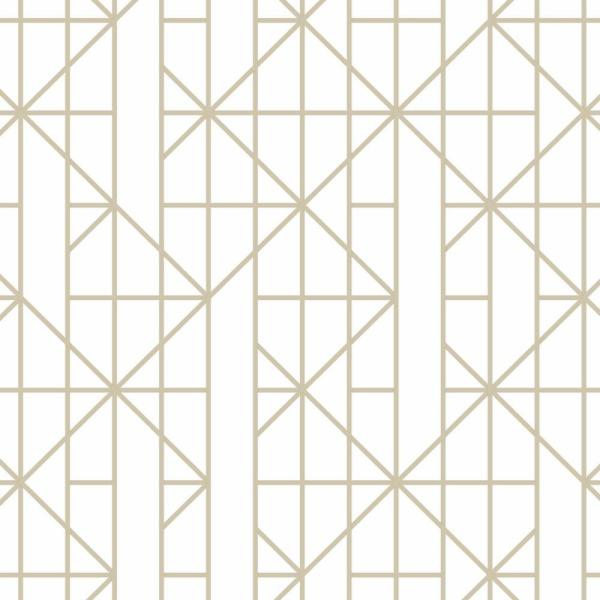 Graham & Brown Gold Linear Removable Wallpaper 103000