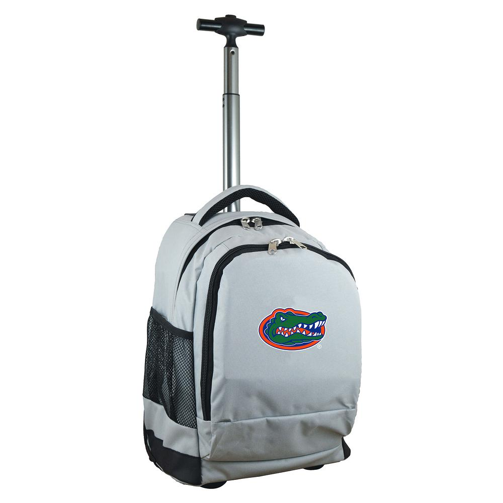 Denco Ncaa Florida 19 In Gray Wheeled Premium Backpack Clfll780 Gy The Home Depot