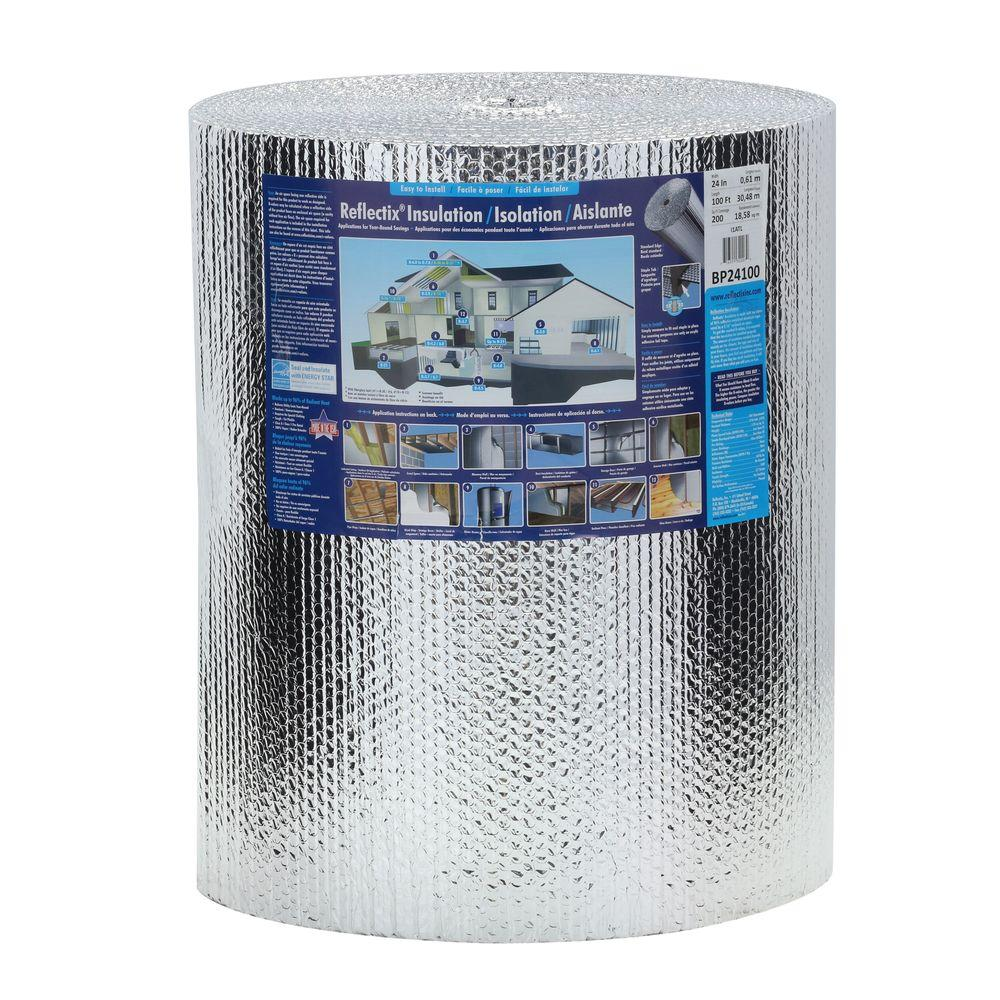 24 in. x 100 ft. Double Reflective Insulation Roll