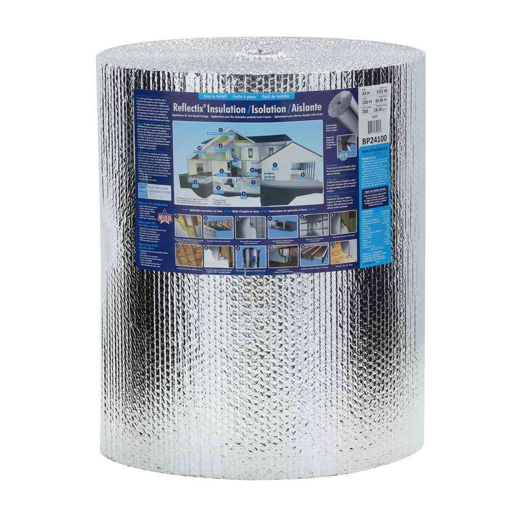 Reflectix 24 in. x 100 ft. Double Reflective Insulation Roll - Sale: $55.31 USD (15% off)