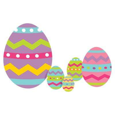 Easter Eggs Yard Sign (2-Pack)