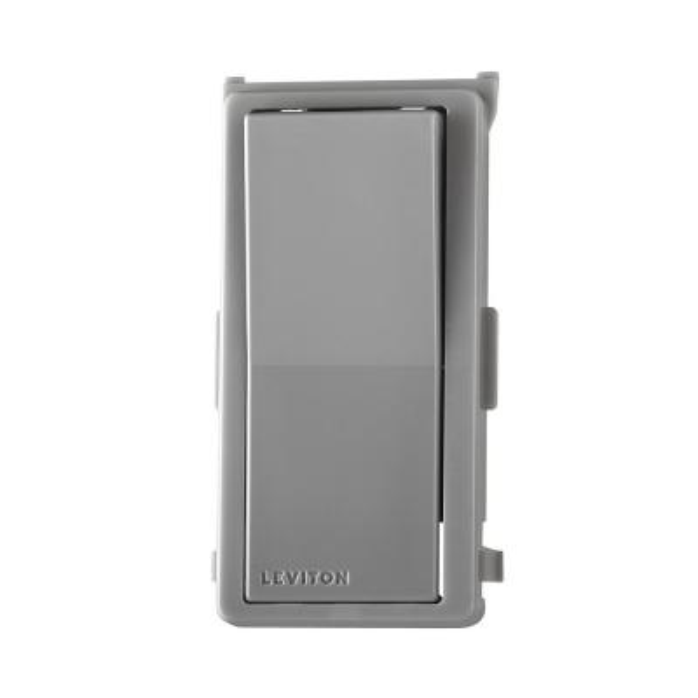 Decora Digital/Decora Smart Switch Color Change Kit, Gray
