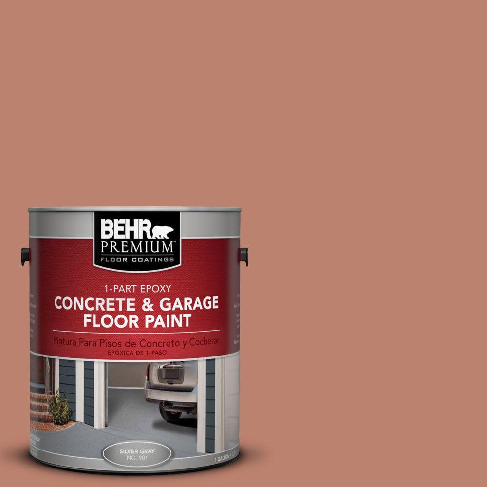 BEHR Premium 1-Gal. #PFC-13 Sahara Sand 1-Part Epoxy Concrete and Garage Floor Paint