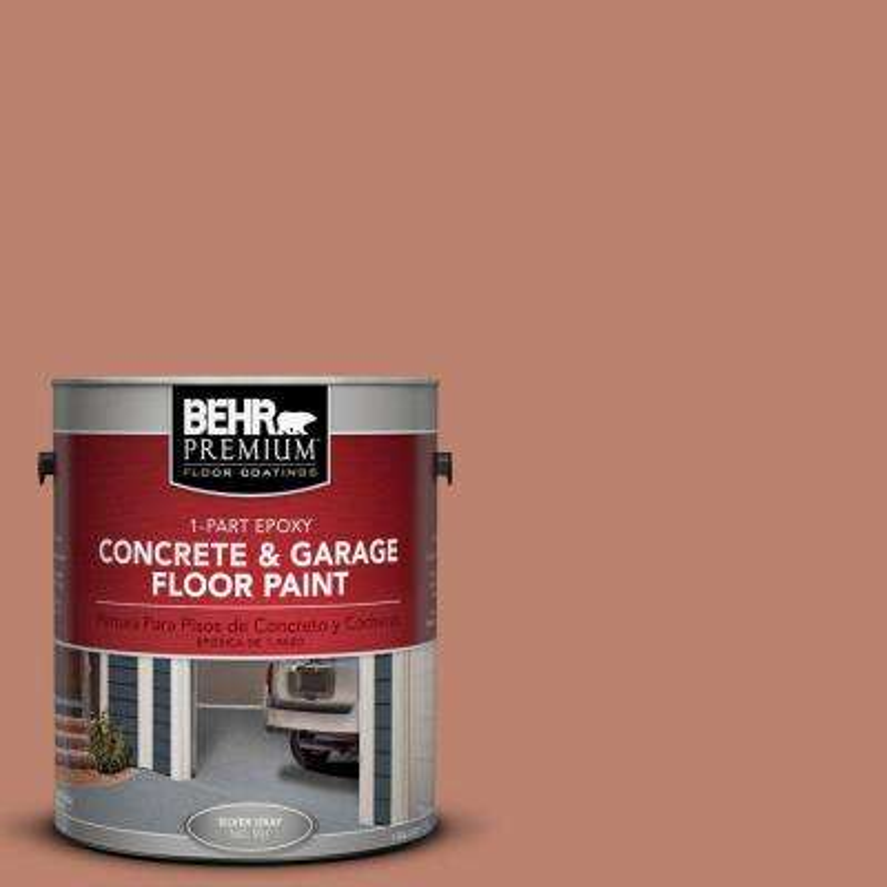 1-Gal. #PFC-13 Sahara Sand 1-Part Epoxy Concrete and Garage Floor Paint