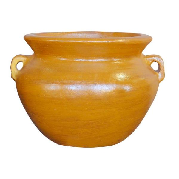 Ravenna Pottery 12 In Clay Dedos Pot Rrc 100b S The Home Depot