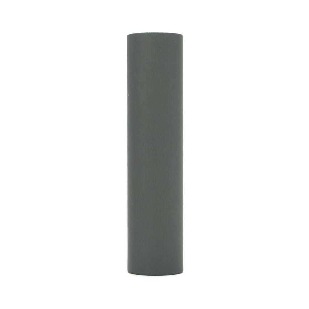 kaarskoker Solid 4 in. x 7/8 in. Gray Paper Candle Covers, Set of 2