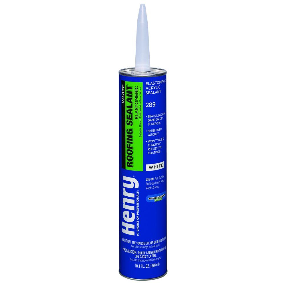 Henry 10.3 oz. 289 White Solarflex Elastocaulk Roof Sealant