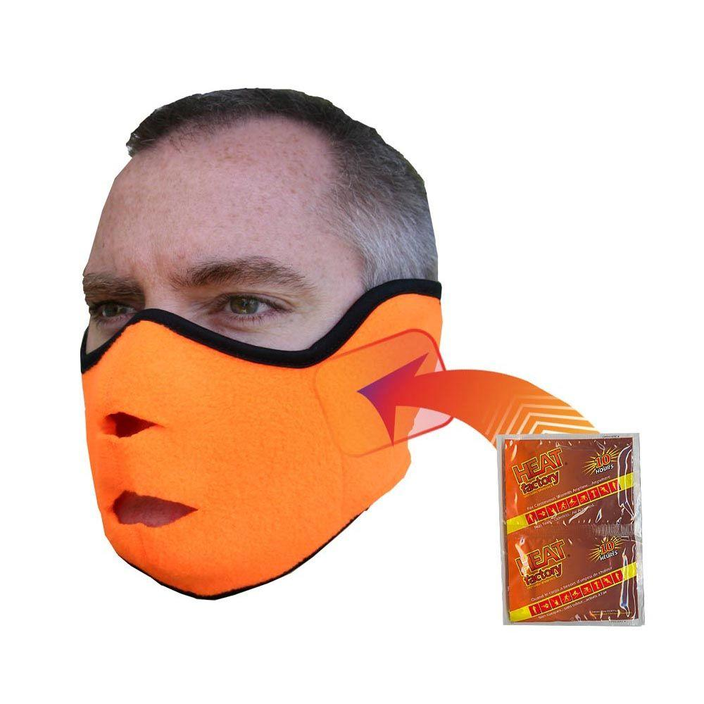 Heat Factory Face Mask-Blaze Orange, Oranges/Peaches