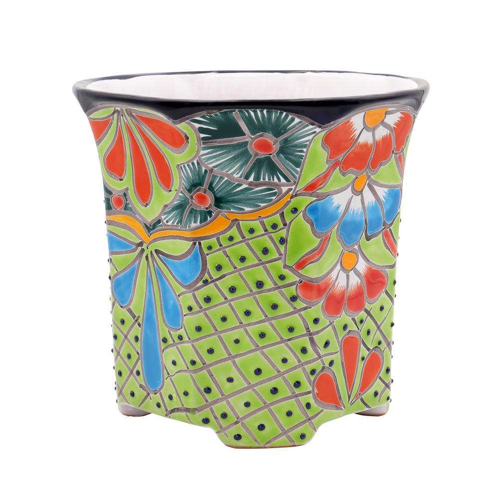 Rosewood Fishbowl Display Vase Pot Planter Stand Plant Pot Display Stand 10.50