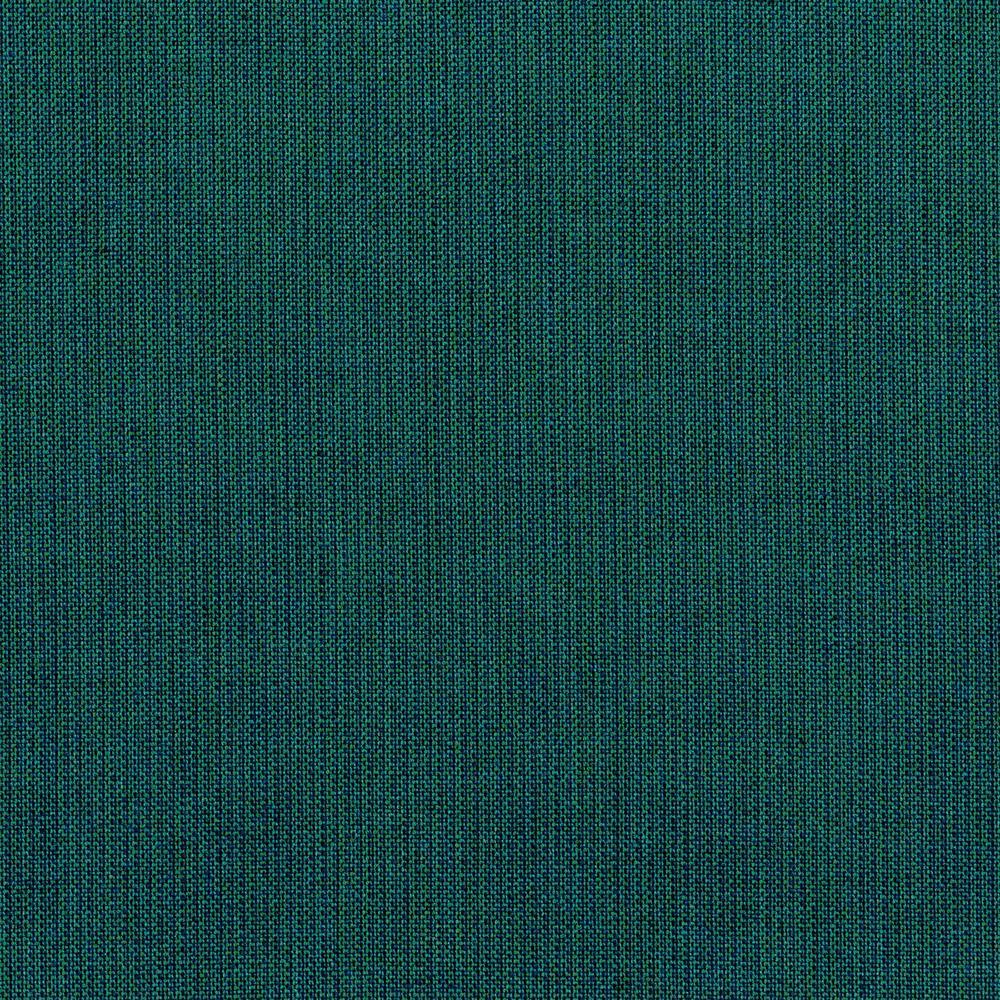 Camden Sunbrella Spectrum Peacock Patio Ottoman Slipcover