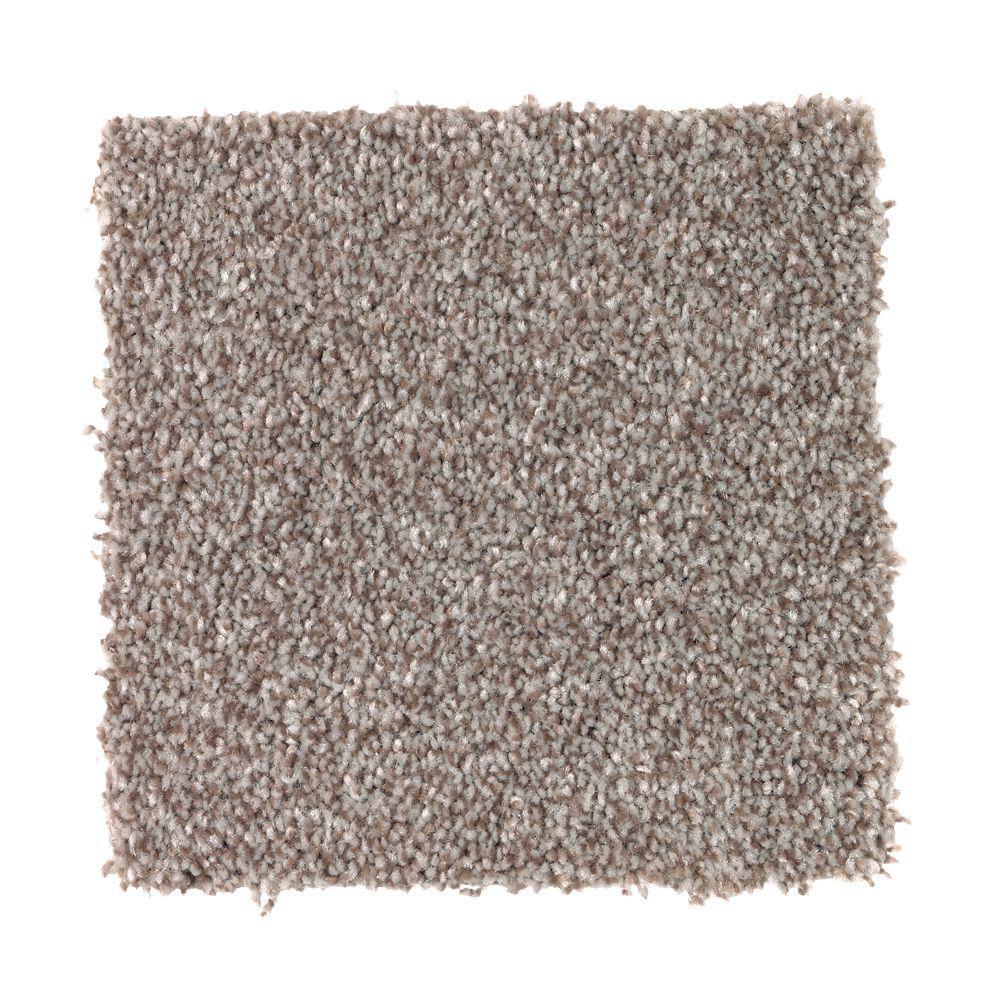 Carpet Sample - Superiority II - Color Estate Greige Texture 8 in. x 8 in.