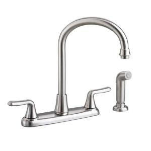 American Standard Colony Soft 2 Handle Standard Kitchen Faucet With