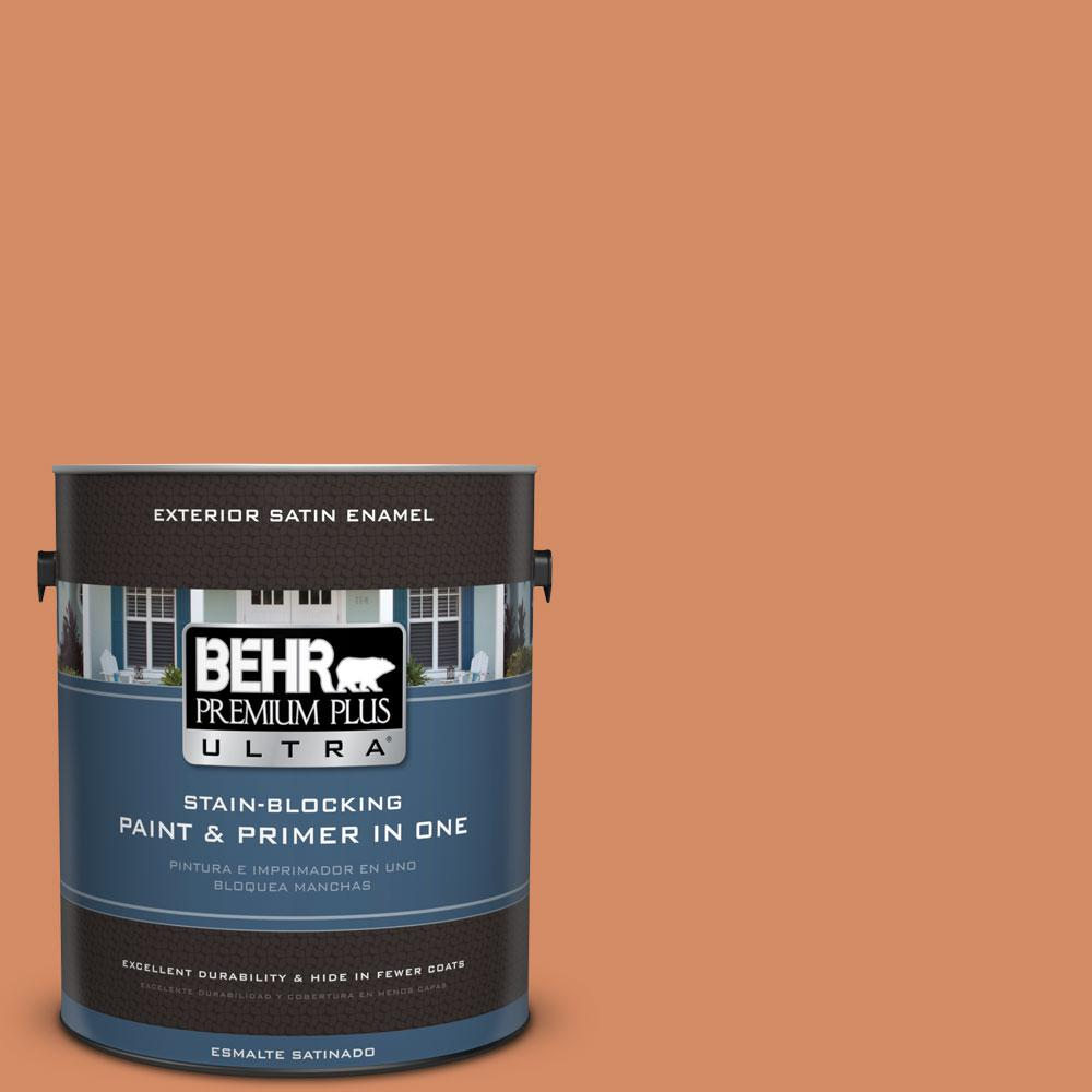 1 gal. #240D-5 Grounded Satin Enamel Exterior Paint