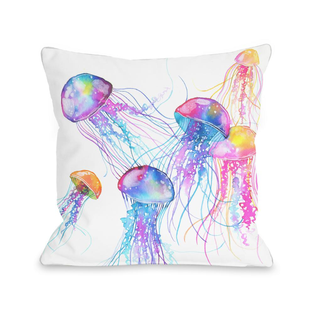 Jellyfish Decorative Pillow
