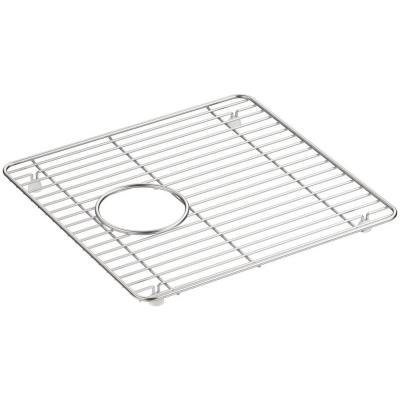 Cairn 13.75 in. x 14 in. Stainless Steel Kitchen Sink Bowl Rack
