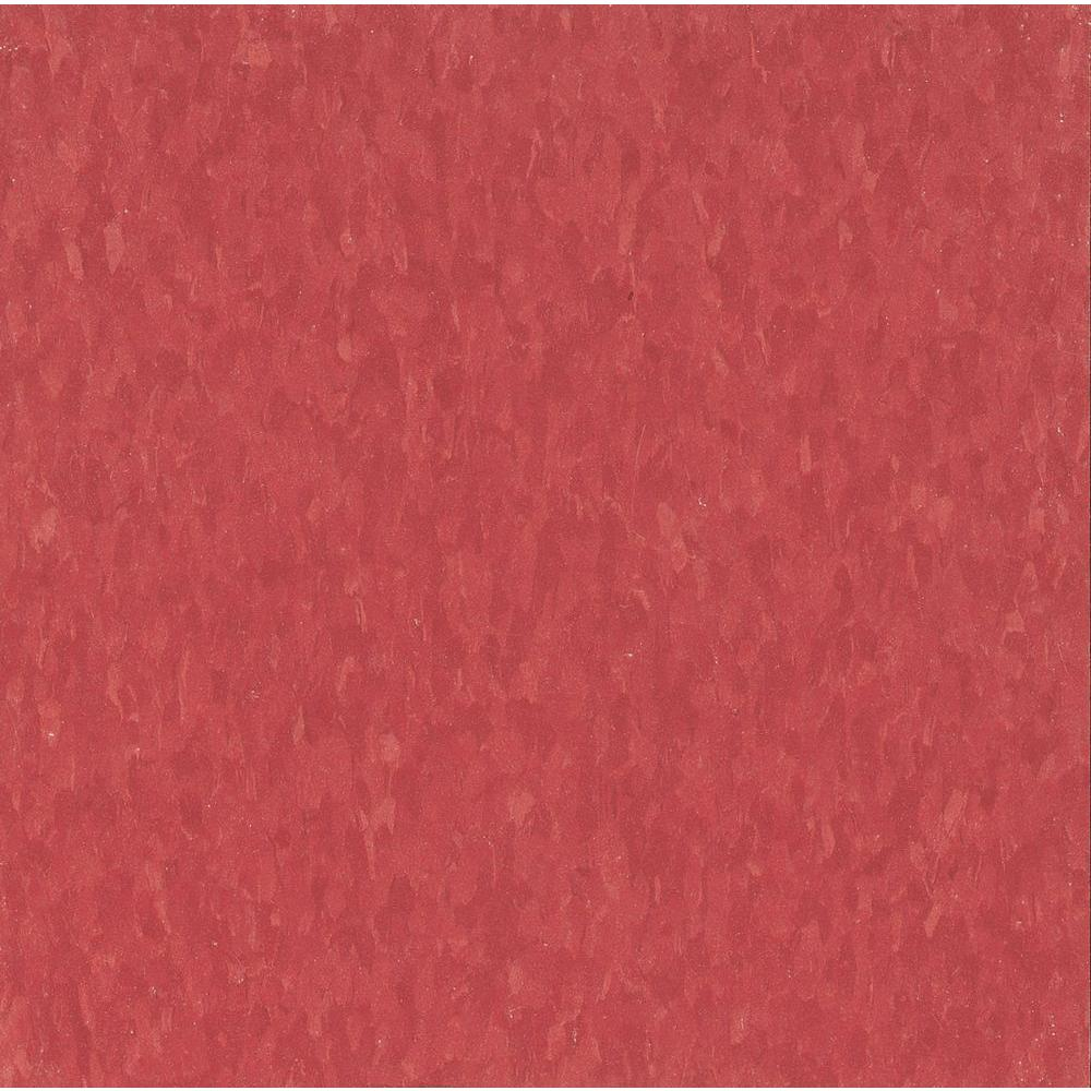 Imperial Texture VCT 12 in. x 12 in. Maraschino Standard Excelon