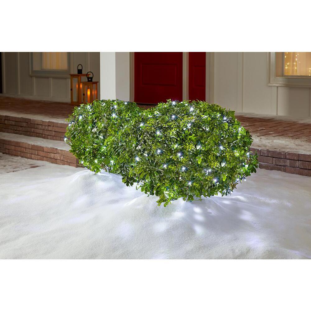 4 ft. x 6 ft. 150-Light LED Cool White Net Light