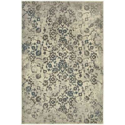 Birch Beige 5 ft. 3 in. x 7 ft. 6 in. Area Rug