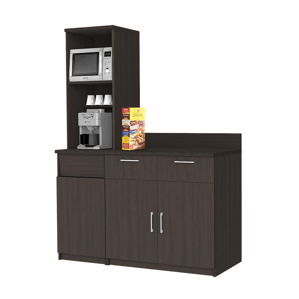 Breaktime Coffee Kitchen Espresso Sideboard With Practical Lunch