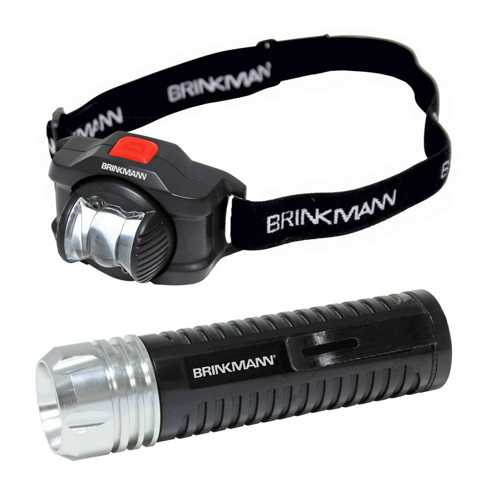 Defiant LED Tactical Flashlight and LED Headlight with Rotating Lens-DISCONTINUED