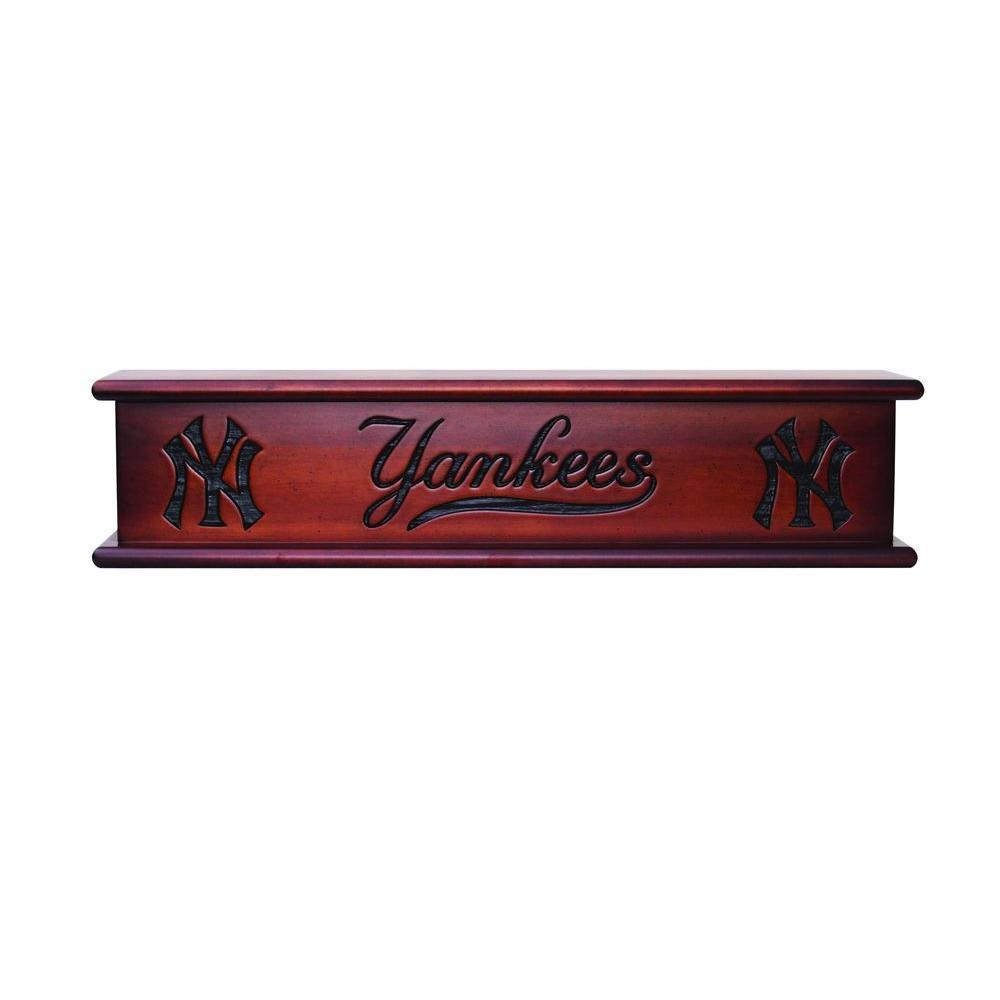 New York Yankees 1.7 ft. Memorabilia Cap-Shelf Mantel