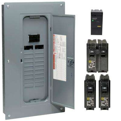 100 Homeline Breaker Boxes Electrical Panels Protective Devices The Home Depot