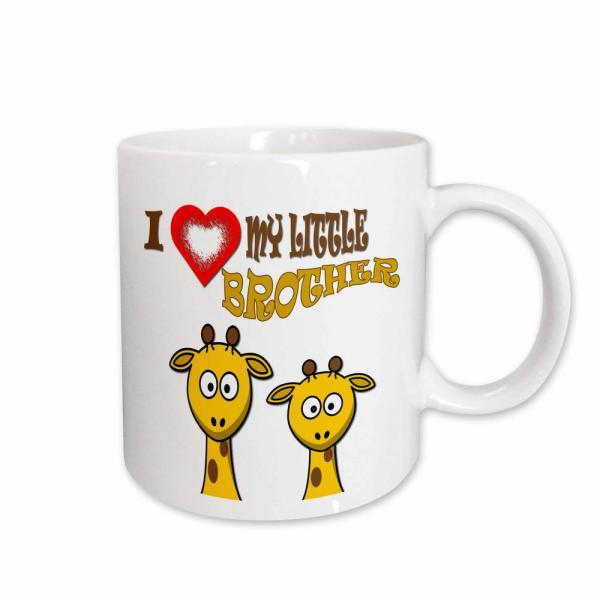 Little Love Quotes | 3drose Rinapiro Love Quotes I Love My Little Brother Two Giraffes