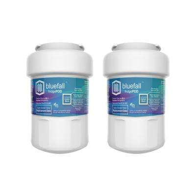 2 Compatible Refrigerator Water Filters Fits GE MWF (Value Pack)