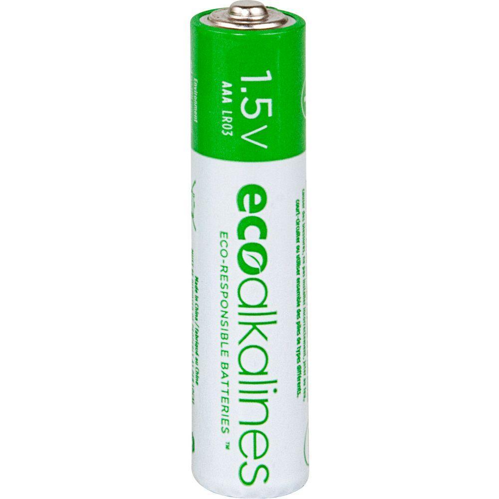 Eco Alkalines AAA Batteries (24-Pack)