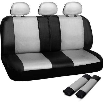 Polyurethane Bench Seat Cover in 21.5 in. L x  23 in. W x 31 in. H  Bench Seat Cover in White and Black